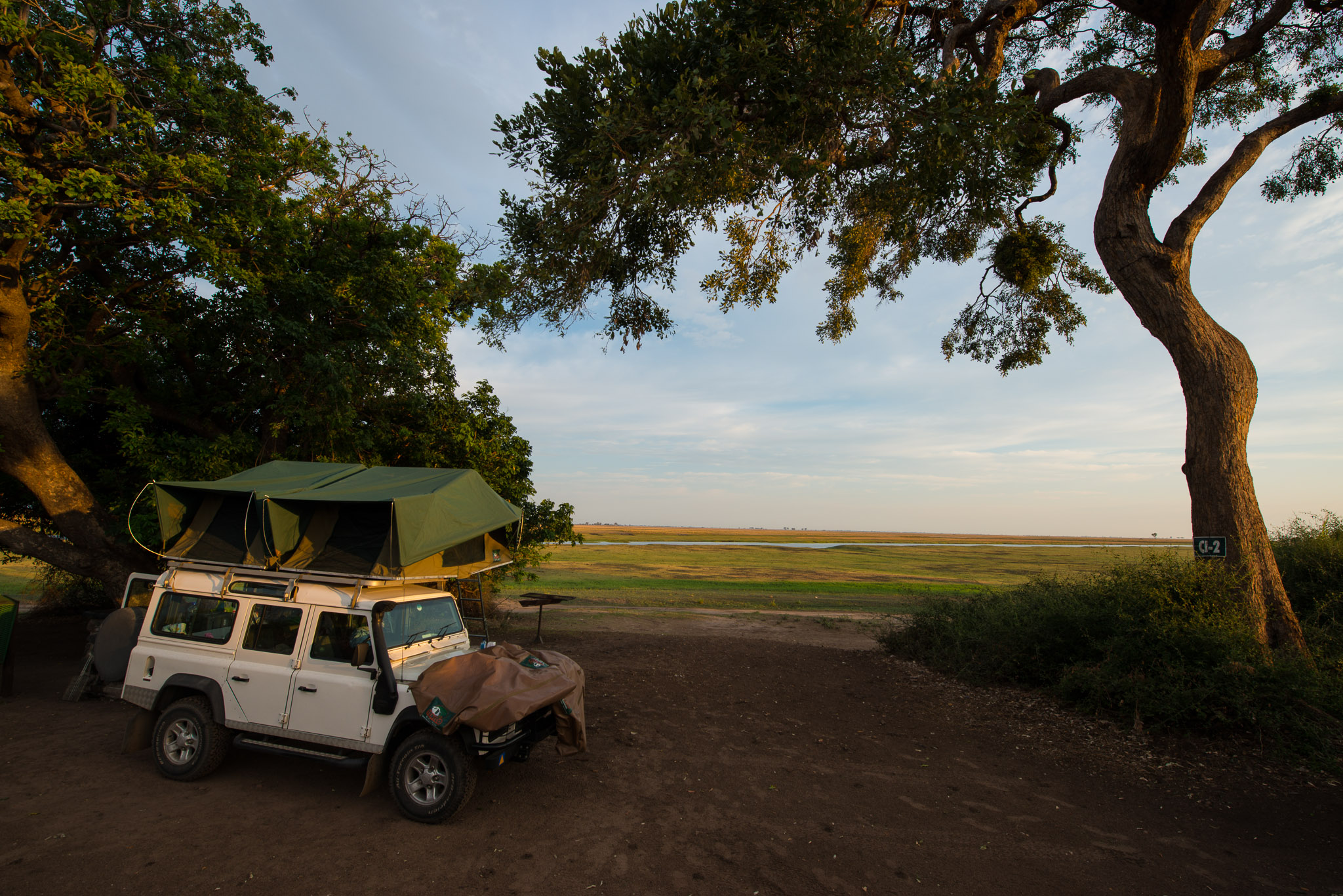 Ihaha Camp Site, Chobe Riverfront