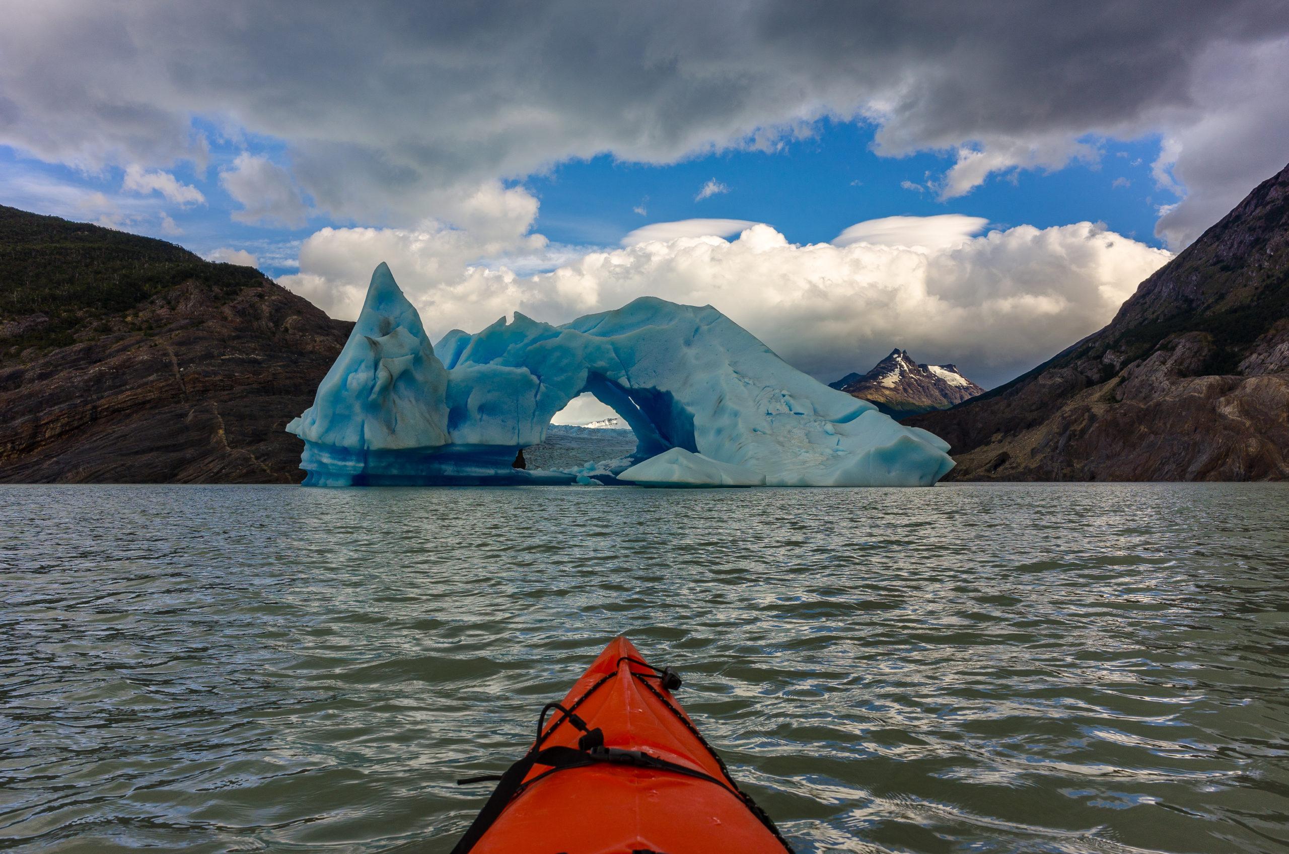 Torres del Paine, Glacier Grey, Chile